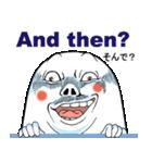 Mr.上から目線【英語版】(個別スタンプ:8)