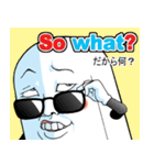 Mr.上から目線【英語版】(個別スタンプ:11)