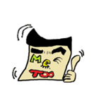 OKくんとカラフル&KAWAIIモンスター仲間(個別スタンプ:09)