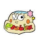 OKくんとカラフル&KAWAIIモンスター仲間(個別スタンプ:10)