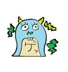 OKくんとカラフル&KAWAIIモンスター仲間(個別スタンプ:37)