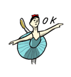 なんかバレエ 3(個別スタンプ:01)