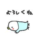 <待ち合わせインコ>日常スタンプ(個別スタンプ:33)