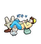 「アルプスの少女ハイジ」ちゃらおんじ編5(個別スタンプ:31)