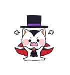 ハロウィン大好きスタンプ☆猫コスプレ秋冬(個別スタンプ:30)