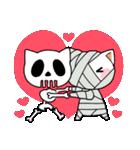 ハロウィン大好きスタンプ☆猫コスプレ秋冬(個別スタンプ:37)