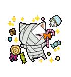 ハロウィン大好きスタンプ☆猫コスプレ秋冬(個別スタンプ:38)