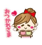 【冬に使える♥】ゆるカワ彼女♥(個別スタンプ:03)