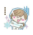 【冬に使える♥】ゆるカワ彼女♥(個別スタンプ:16)