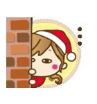 【冬に使える♥】ゆるカワ彼女♥(個別スタンプ:25)