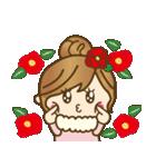 【冬に使える♥】ゆるカワ彼女♥(個別スタンプ:30)