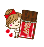 【冬に使える♥】ゆるカワ彼女♥(個別スタンプ:38)