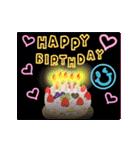 動く!誕生日&ありがとう バラエティパック(個別スタンプ:01)