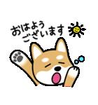 Cute! 柴犬スタンプ(個別スタンプ:02)