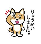 Cute! 柴犬スタンプ(個別スタンプ:13)