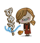 【冬だよ!!♥実用的】デカかわ文字(個別スタンプ:14)