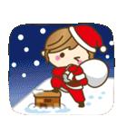 【冬だよ!!♥実用的】デカかわ文字(個別スタンプ:28)