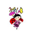 てんとう虫のララちゃんとお友達 パート2(個別スタンプ:14)
