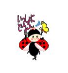 てんとう虫のララちゃんとお友達 パート2(個別スタンプ:17)