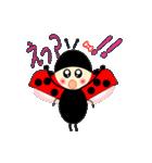 てんとう虫のララちゃんとお友達 パート2(個別スタンプ:22)