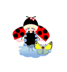 てんとう虫のララちゃんとお友達 パート2(個別スタンプ:24)