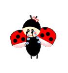 てんとう虫のララちゃんとお友達 パート2(個別スタンプ:25)