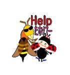 てんとう虫のララちゃんとお友達 パート2(個別スタンプ:35)