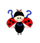 てんとう虫のララちゃんとお友達 パート2(個別スタンプ:36)