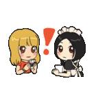 メイドのリムちゃんとギャルピッピ 日常編(個別スタンプ:04)