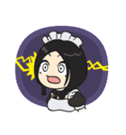 メイドのリムちゃんとギャルピッピ 日常編(個別スタンプ:20)