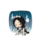 メイドのリムちゃんとギャルピッピ 日常編(個別スタンプ:21)