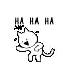 すこぶる動くネコ(個別スタンプ:01)