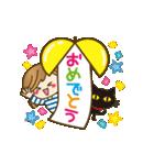【動く♥】年中OK!誕生日&おめでとうパック(個別スタンプ:6)
