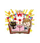 【動く♥】年中OK!誕生日&おめでとうパック(個別スタンプ:8)