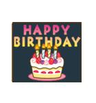 【動く♥】年中OK!誕生日&おめでとうパック(個別スタンプ:9)