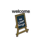 キャンプ デザイン(個別スタンプ:06)