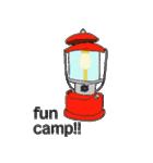 キャンプ デザイン(個別スタンプ:23)