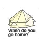 キャンプ デザイン(個別スタンプ:39)