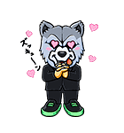 MAN WITH A MISSION(個別スタンプ:38)
