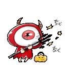 ゆる~いゲゲゲの鬼太郎のハロウィン♪(個別スタンプ:04)