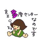 京王線の友(個別スタンプ:38)