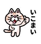 三河弁にゃんこ☆(個別スタンプ:7)
