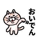 三河弁にゃんこ☆(個別スタンプ:10)