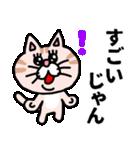 三河弁にゃんこ☆(個別スタンプ:13)