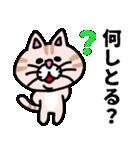 三河弁にゃんこ☆(個別スタンプ:26)