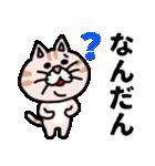 三河弁にゃんこ☆(個別スタンプ:27)