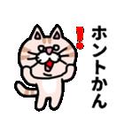 三河弁にゃんこ☆(個別スタンプ:32)