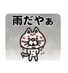 三河弁にゃんこ☆(個別スタンプ:40)