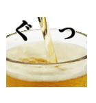 ビール(個別スタンプ:10)