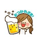 動く!かわいい主婦の1日【冬編】(個別スタンプ:08)